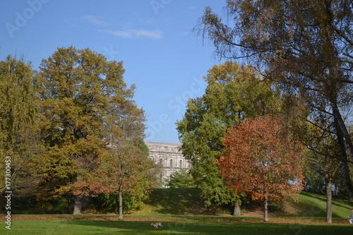 Staande foto Tuin gemischt, Herbst