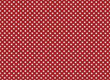 Tło czerwone i białe kropki - 177301424