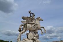 Statue Of Pegasus, French Tour...