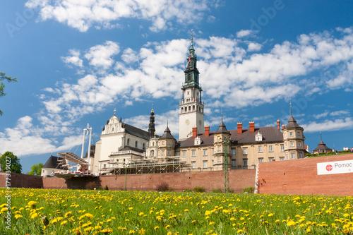 Fototapeta Jasna Góra - Klasztor Jasnogórski - Częstochowa obraz