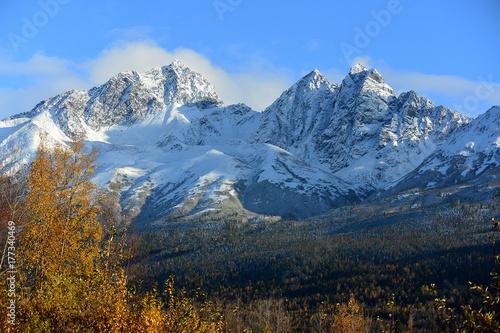 Plakat Góry Alaska