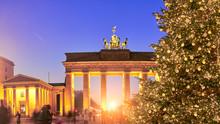 Panoramic Image Of Christmas T...