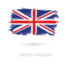 United Kingdom Colorful Brush ...