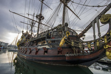 The Neptune, A Ship Replica Of...