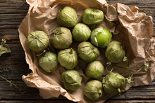 Mexican Food Ingredient:  Tomatillos