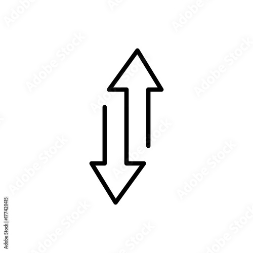 Modern exchange line icon  - Buy this stock vector and explore
