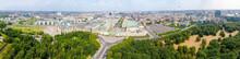 Aerial View Of Berlin Skyline ...