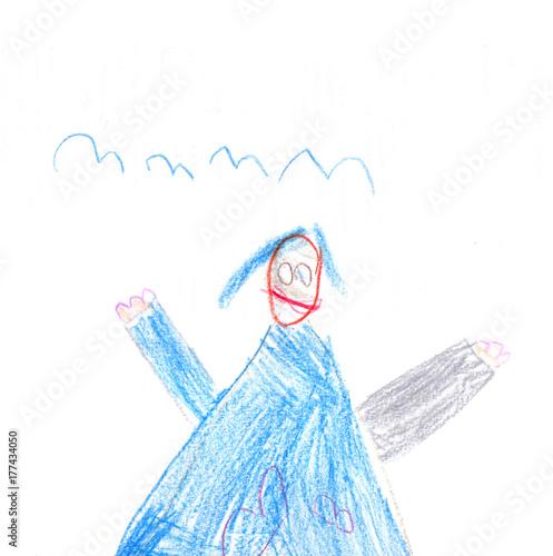 Fotografie, Obraz  blaue Hexe