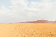 Dunes And Desert Landscape In Sossusvlei, Namibia