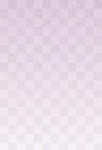 市松模様 紫色