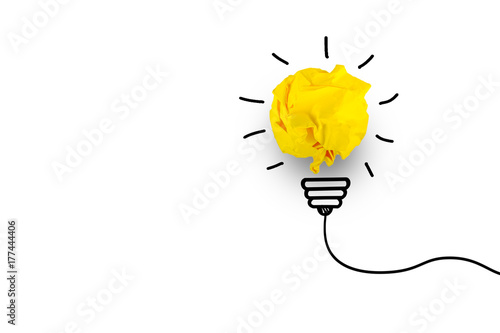 Creative idea. Concept of idea, innovation and Inspiration