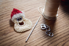Handmade Crocheted Christmas O...