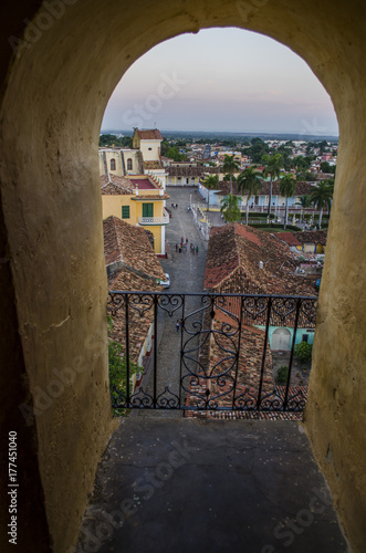 Photo  Trinidad. Cuba from above