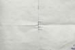 Leinwandbild Motiv Sheet of old paper folded, abstract background