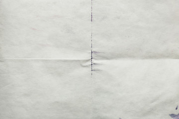 Sheet of old paper folded, abstract background