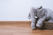Fluffy Elephant Doll