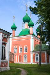 Fototapeta na wymiar Alexander Nevsky Church in Pereslavl-Zalessky. The Golden Ring of Russia