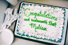 Cake: Bakery Messes Up Message On Congratulations Cake