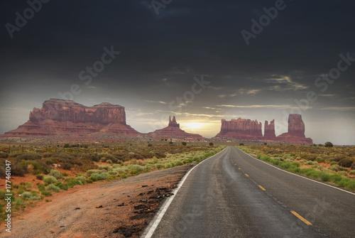 Fototapeta Wejście do Monument Valley Navajo Tribal Park, Arizona, USA