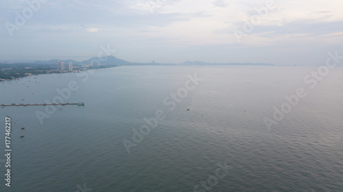 Türaufkleber UFO Sea