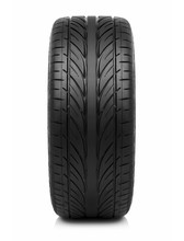 Car Tire Isolated On White Bac...