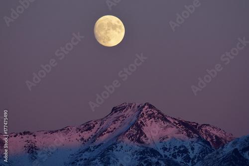 Fototapeta Wschód księżyca
