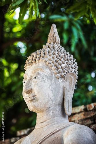 Plakat Ayutthaya Wat Yai Chai Buddha