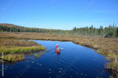 Photo Beautiful sceneries when hiking Algonquin Provincial Park