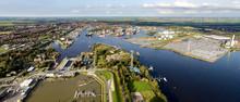 Emden Luftaufnahme Vom Aussenh...