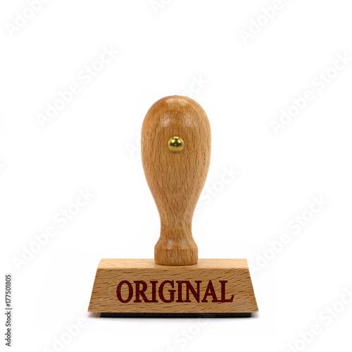 Stempel, Original, Echtheitszertifikat - Buy this stock photo and ...