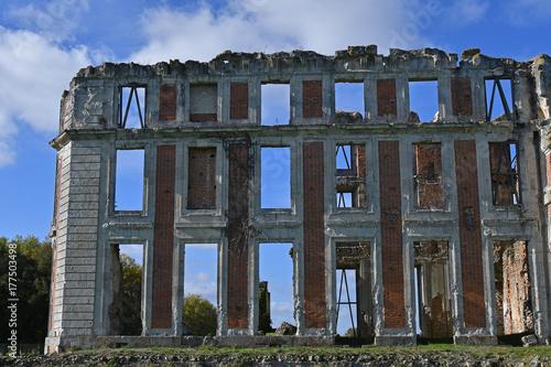 Foto op Aluminium Rudnes ruines