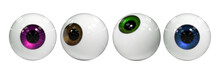 Human Eye Balls In Different I...