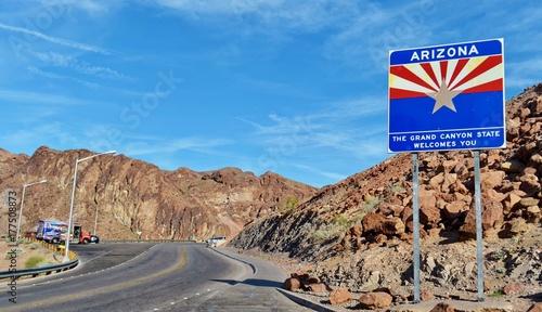 Plakat Znak powitalny Arizona