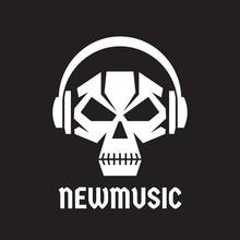 New Music - Vector Logo Templa...