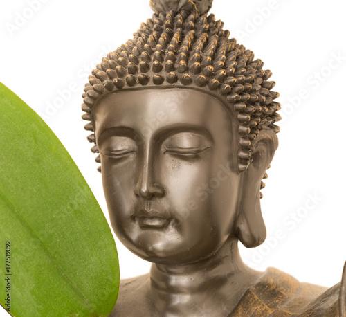 Plakat Buddyzm z orchidei
