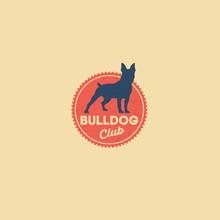 Bulldog Logo. Kennel Club. Dog...