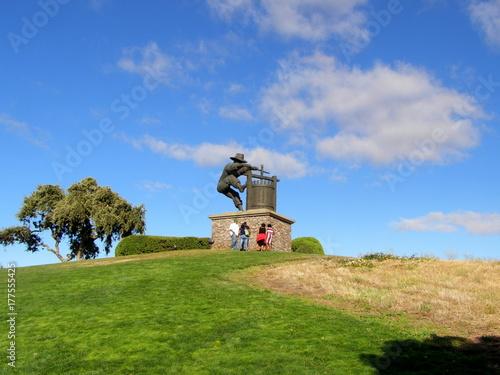 Fototapeta Napa Valley, pomnik obraz