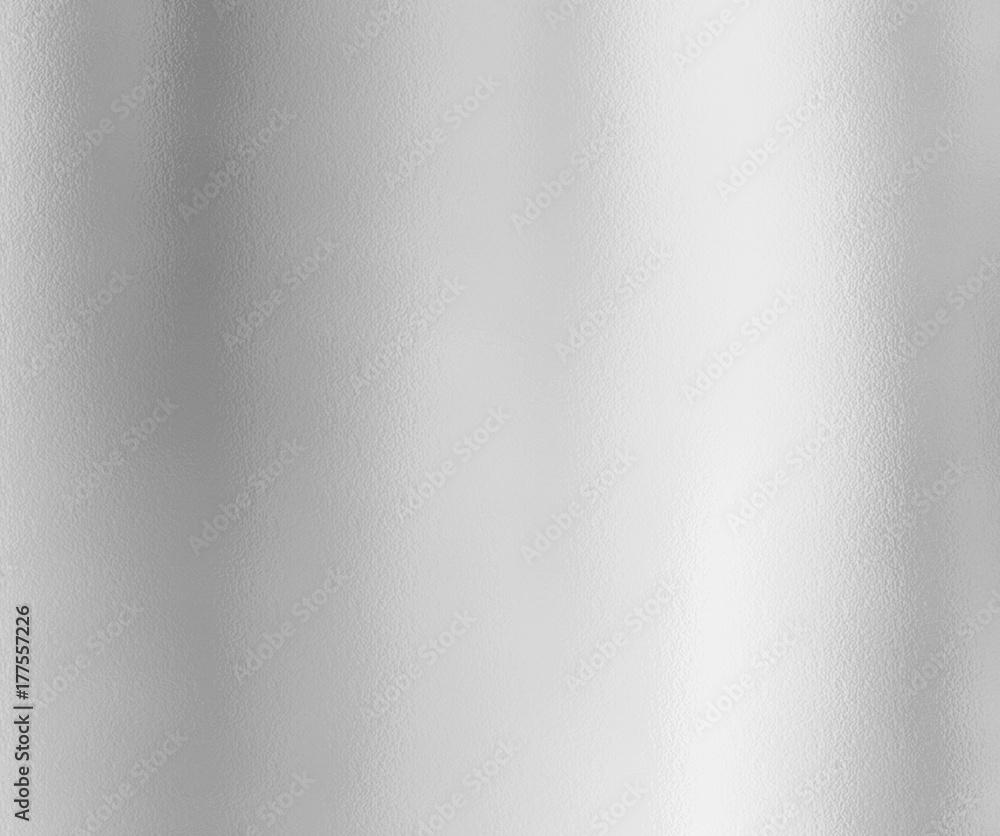 Fototapety, obrazy: Silver foil texture background