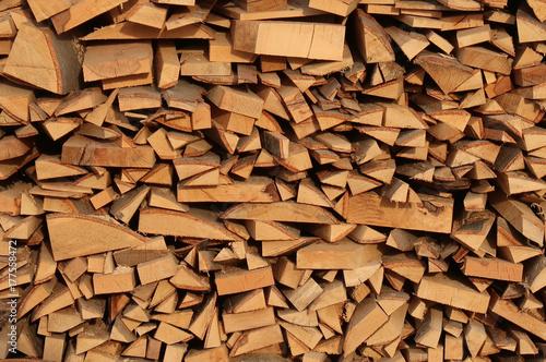 Zdjęcie XXL Pozostawione drewno opałowe