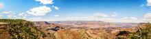 Panorama: Yaki Point - Grand Canyon, South Rim, Arizona, AZ, USA