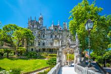 Quinta Da Regaleira In Sintra,...