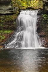 Waterfall on Sullivan Run - Pennsylvania