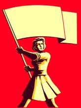 Vintage Soviet Socialist Propa...