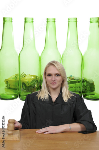 Fotografija  Woman Court Judge
