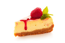 Piece Of Homemade Cheesecake D...