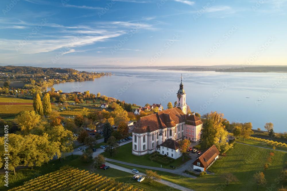 Fototapety, obrazy: Kloster Birnau am Bodensee