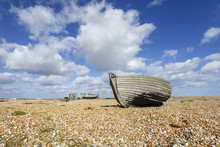 Abandoned Fishing Boat On The ...