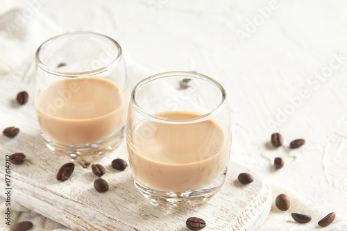 Irish cream coffee liqueur