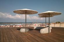 Tel Aviv Beach Promenade, Deck...