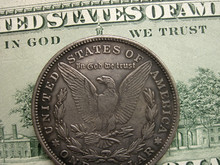In God We Trust On Banknote An...